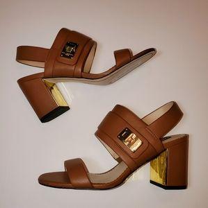 Karl Lagerfeld Jaylynn Strappy Heels Brand New!!
